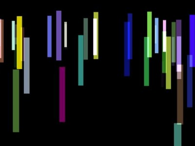 an image of many coloured vertical lines
